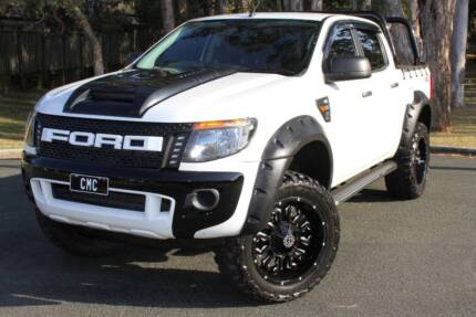2013 Ford Ranger Ute TURBO DIESEL 4X4 REGO AND RWC