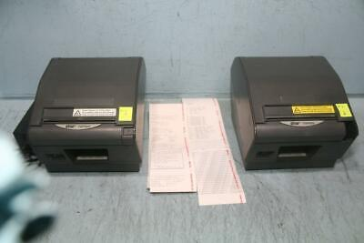 Lot Of 2star Tsp800 Thermal Pos Printer W 1 Ethernet Ifbd-he0506 Card