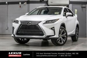 2018 Lexus RX 350 LUXE AWD; CUIR TOIT GPS ANGLES MORTS LSS+ $4,6