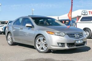 2008 Honda Accord Euro CL MY2007 Luxury Silver 5 Speed Automatic Sedan Dandenong Greater Dandenong Preview