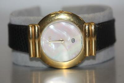 ecfd95a62c8 Vintage Gucci 5300M Gold Plated Swiss Quartz Midsize Watch 34mm MOP Dial