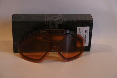 effc895f9f4 New Oakley 02 XS Replacement Goggle Lens Persimmon Authentic Ski Snow Vent