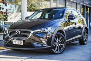2015 Mazda CX-3 DK2W76 sTouring SKYACTIV-MT Black 6 Speed Manual Wagon Somerton Park Holdfast Bay Preview