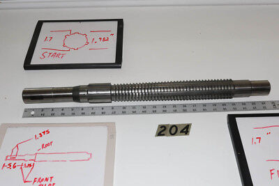 6 Spline Gear Pull Broach 2 Finisher Tbco.