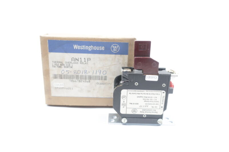 Westinghouse AN11P Thermal Overload Relay