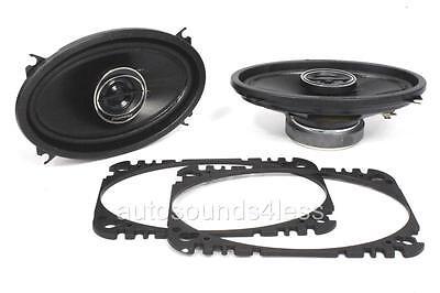 "Pioneer TS-G4645R 200 Watts 4"" x 6"" 2-Way Coaxial Car Audio Speakers 4x6"" New"