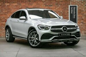 2020 Mercedes-Benz GLC-Class C253 800+050MY GLC300 Coupe 9G-Tronic 4MATIC Silver 9 Speed Mulgrave Monash Area Preview