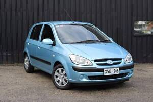 2008 Hyundai Getz 5 Door Hatchback Mile End South West Torrens Area Preview