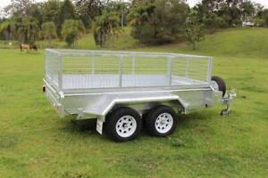 Ozzi 10x5 Galvanised Hydraulic Tipping Trailer 3000kg Molendinar Gold Coast City Preview