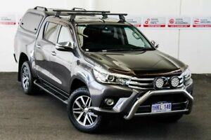 2015 Toyota Hilux GUN126R SR5 (4x4) Graphite 6 Speed Automatic Dual Cab Utility Myaree Melville Area Preview
