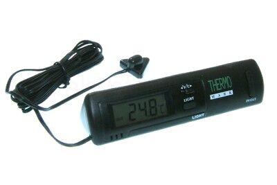 Digitales Innen- und Außen Thermometer für PKW Auto LKW KFZ -50 °C bis + 70 °C
