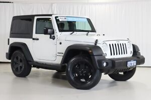 2018 Jeep Wrangler JK MY18 Sport White 5 Speed Automatic Softtop