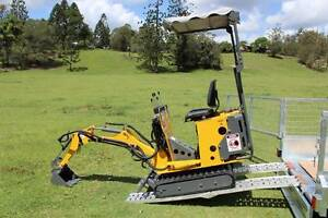Tiger Mini Excavator Ozziquip New Delivery Australia Wide Molendinar Gold Coast City Preview