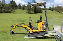 Tiger Mini Excavator Ozziquip New Delivery Australia Wide Molendinar Gold Coast City Preview