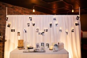 For Rent: Wedding & Event Backdrops