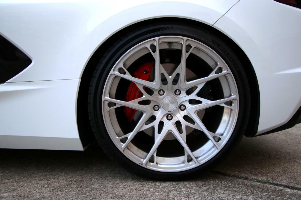 2021 White Chevrolet Corvette Convertible 3LT   C7 Corvette Photo 10