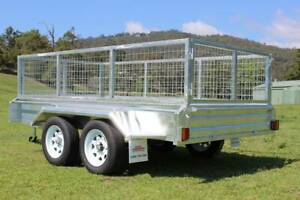 Ozzi 10x5 Galvanised Tandem Axle Box Trailer Molendinar Gold Coast City Preview