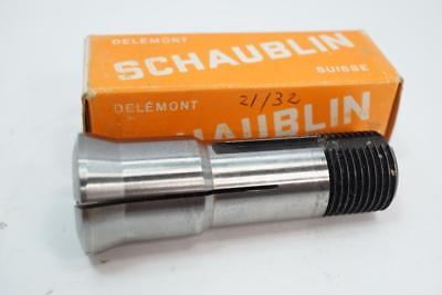 New Schaublin W-20 Swiss Made 2132 Collet For Aciera Mill Or 102 Lathe