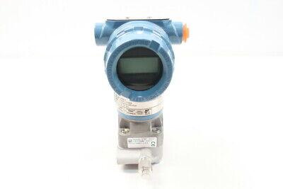 Rosemount 3051cd2a22a1am5dfq4 Pressure Transmitter 0-250in-h2o 10.5-42.4v-dc