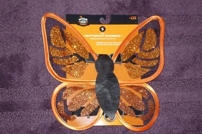 Dog Butterfly Costume (Dog Costume Butterfly Glow in the Dark Harness Costume Small Orange)