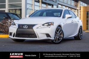 2014 Lexus IS 250 AWD, F-SPORT, NEW SUMMER TIRES VERY CLEAN, LOW