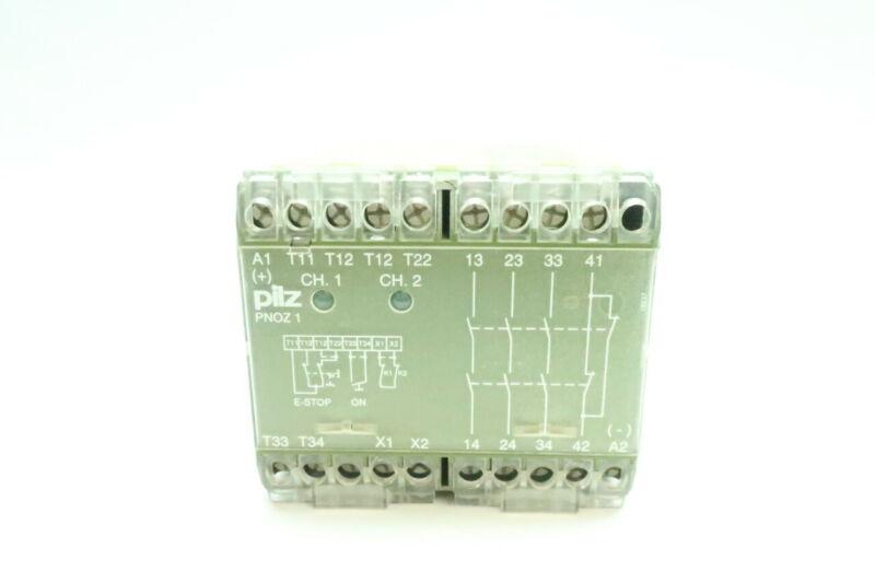 Pilz PNOZ1 Safety Relay 24v-dc