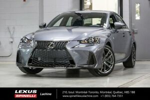 2018 Lexus IS 300 F SPORT II AWD; CUIR TOIT GPS ANGLES MORTS LSS