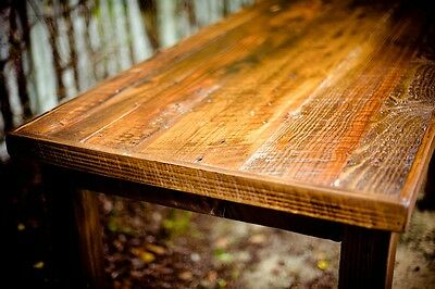 An old table can be turned into a fantastic desk