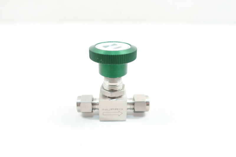 Nupro SS-4H Manual Stainless Needle Valve 1/4in Tube