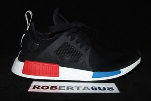 Adidas-Men-NMD-XR1-Primeknit-PK-OG-Black-Blue-Red-BY1909