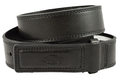New Dickies Mens Leather Covered Buckle No Scratch Mechanics Work - Leather No Scratch Buckle Belt