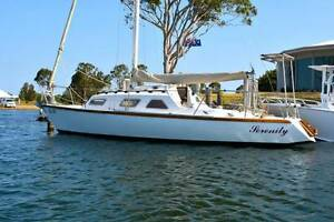 JOHN SPENCER SERINDIPiTY 28FT YACHT RESTORED South Yarra Stonnington Area Preview
