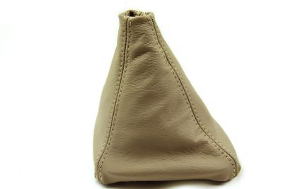 Manual Shift Boot Leather Synthetic for BMW E39 96-03 525 528 530 Beige
