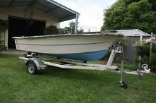 SALE-Tender and Trailer with option to purchase motor pictured. Pelican Lake Macquarie Area Preview
