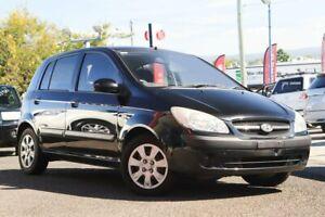 2009 Hyundai Getz TB S Black Automatic Hatchback Moorooka Brisbane South West Preview