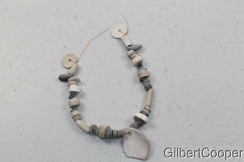 CALIFORNIA SHELL AND STEATITE NECKLACE