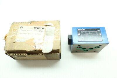 Bosch 0811020030 315bar Hydraulic Flow Control Valve