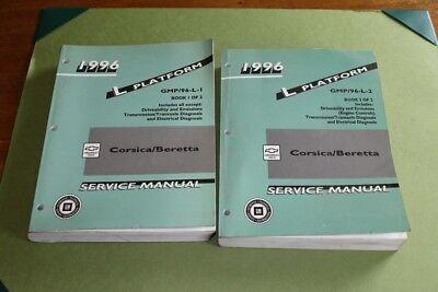 1996 Chevrolet Corsica & Beretta 2 vol. Factory Service Manual.
