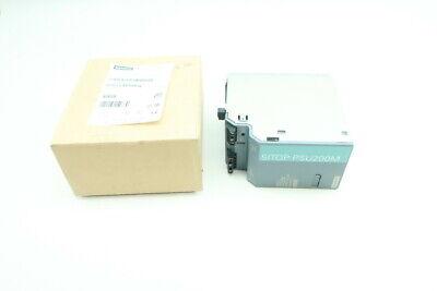 Siemens 6ep1334-3ba10 Ac To Dc Power Supply 120230-500v-ac 10a Amp 24v-dc