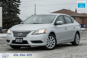 2013 Nissan Sentra SV AUTO NO ACCIDENTS CERTIFIED SERVICE RECORD