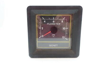 Signet Mk584 Flow Meter 0-120gpm 12v-dc