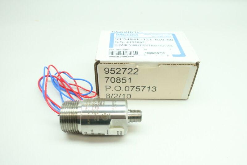 Metrix ST5484E-121-020-00 Seismic Vibration Transmitter 11-30v-dc