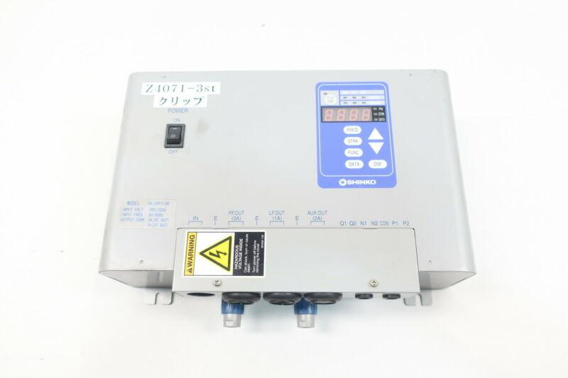 Shinko C9-3VFT-2B Vibration Controller 220v-ac