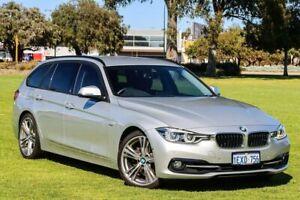 2015 BMW 3 Series F31 LCI 330i Touring Sport Line Glacier Silver 8 Speed Sports Automatic Wagon