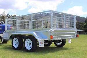 Box Trailer On Sale Ozzi 9x5 Galvanised GOLD COAST Molendinar Gold Coast City Preview