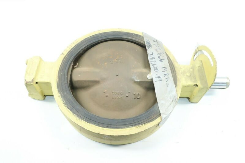 Henry Pratt MKII Monoflange Wafer Butterfly Valve 10in