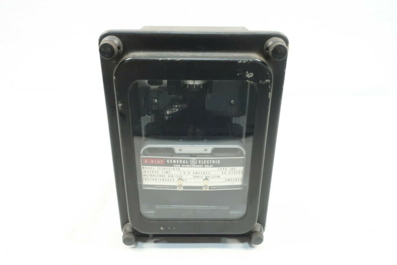 General Electric Ge 12IAC51A2A Iac Time Overcurrent Relay