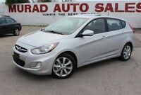 2012 Hyundai Accent !!! 124,000 KMS !!! MANUAL !!! SUNROOF !!! Oshawa / Durham Region Toronto (GTA) Preview