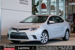 2016 Toyota Corolla LE VERY CLEAN! HEATED SEATS! BLUETOOTH! BACK