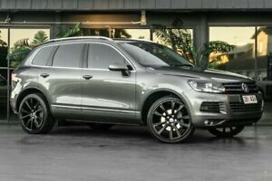 2012 Volkswagen Touareg 7P MY13 V6 TDI Tiptronic 4MOTION Grey 8 Speed Sports Automatic Wagon Bowen Hills Brisbane North East Preview